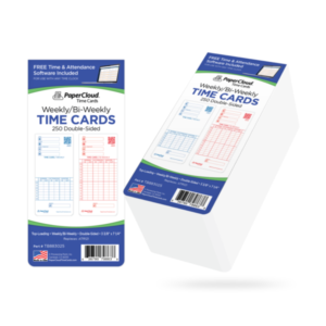 Bi-Weekly Time Card